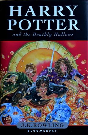 Книга на английском. Современность, Роулинг Джоан. Гарри Поттер и дары смерти