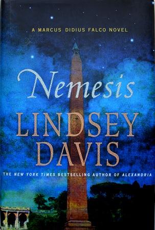 Книга на английском. Детектив, Линдси Дэвис.Немезида