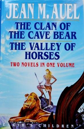 Книга на английском. Фэнтези, Мари Ауэль Джин.Клан пещерного медведя. Долина лошадей