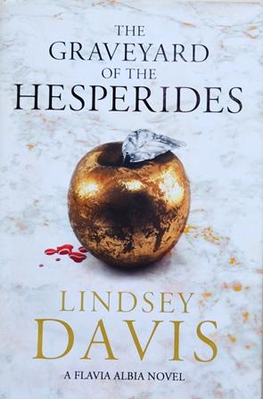 Книга на английском. Детектив, Линдси Дэвис. Кладбище Гесперид