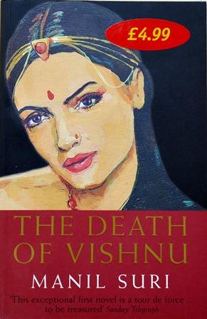 Книга на английском. Роман, Сури Манил. Смерть Вишну