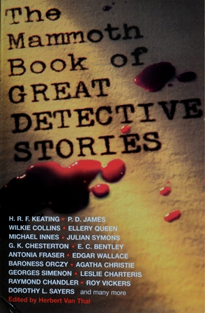 Книга на английском. Детектив. Ван Тал Герберт, Мамонтова книга великих детективов