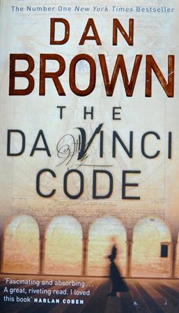 Книга на английском. Детектив. Браун Дэн, Код да Винчи