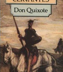 Книга на английском. Классика. Сервантес, Дон Кихот