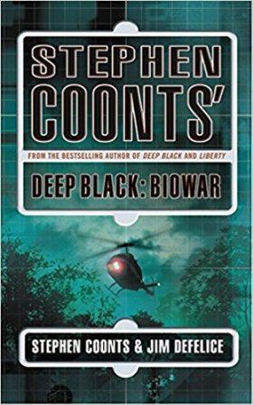 Книга на английском. Современность. Coonts Stephen, Deep black: biowar