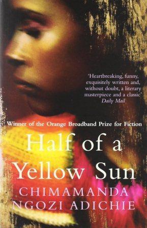 Книга на английском. Роман. Адичи Чимаманда Нгози, Половина желтого солнца