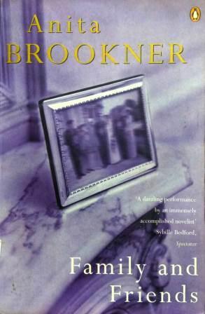 Книга на английском. Роман. Брукнер Анита, Семья и друзья