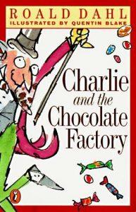 Книга на английском. Фантастика. Даль Роалд, Чарли и шоколадная фабрика